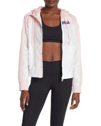 f56ea938eddc4 Fila + Uo Drew Track Jacket in White - Lyst
