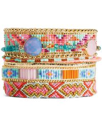 Hipanema - Magnolia Beaded Bracelet - Lyst