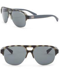 Armani Exchange - 59mm Navigator Sunglasses - Lyst