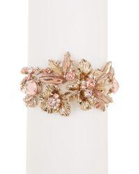 Givenchy - Drama Flower Crystal Bracelet - Lyst