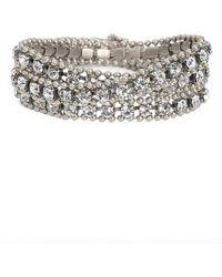 Loren Hope - Glenn Crystal Wrap Bracelet - Lyst