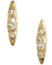Gorjana - Collette Marquise Stud Earrings - Lyst