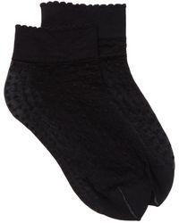 Falke - Dot Socks - Lyst