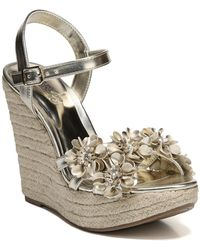 Carlos By Carlos Santana - Belinda Wedge Sandals - Lyst