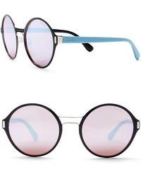 Prada - Women's Round 54mm Sunglasses - Lyst