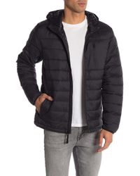 Joe Fresh - Hooded Quilted Puffer Jacket - Lyst