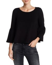 BB Dakota - Libby Flare Sleeve Blouse - Lyst