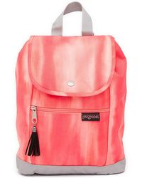 Jansport - Abbie Drawstring Canvas Backpack - Lyst