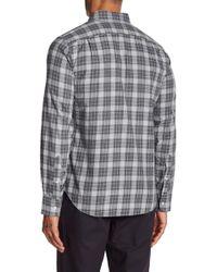 Bonobos - Plaid Print Slim Fit Woven Shirt - Lyst