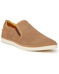 Donald J Pliner - Travis Perforated Slip-on Sneaker - Lyst