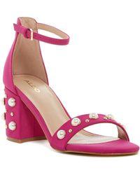 ALDO - Majorca Embellished Sandal - Lyst