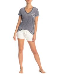 Pj Salvage - Feather Touch Lounge Shorts - Lyst