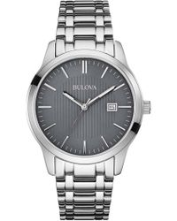 Bulova - Men's Classic Analog Quartz Bracelet Watch, 40mm - Lyst