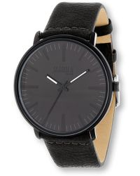 Steve Madden - Men's Leather & Alloy 43mm Watch - Lyst
