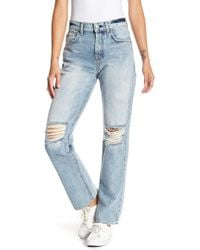 7 For All Mankind - Rickie Boyfriend Jeans - Lyst