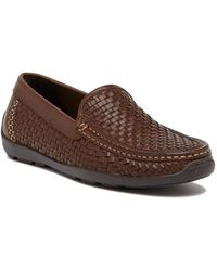 Tommy Bahama | Orson Basket Woven Leather Loafer | Lyst