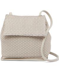 Christopher Kon - Mini Woven Leather Crossbody Bag - Lyst