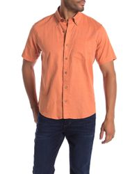 Tailor Vintage - Short Sleeve Stretch Fit Shirt - Lyst
