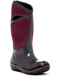 Bogs - Plimsoll Quilted Waterproof Rain Boot - Lyst