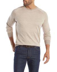 Peter Millar - Desert Herringbone Crew Neck Sweater - Lyst