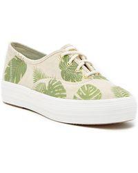 Keds - Triple Tropical Platform Sneaker - Lyst