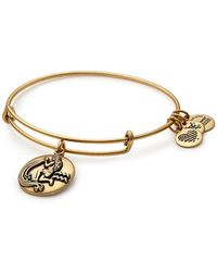 ALEX AND ANI - Aquarius Expandable Bangle - Lyst