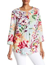 Casual Studio - Printed Easy Blouse - Lyst