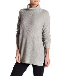 Six Crisp Days - Turtleneck Tunic Sweater - Lyst