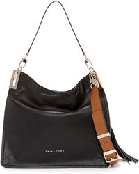 Trina Turk - Raquel Flap Leather Hobo - Lyst
