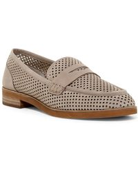 Vince Camuto - Kanta Perforated Loafer - Lyst