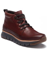 Cole Haan - Zerogrand Rugged Chukka (hickory/goblin Blue/gum/magnet) Shoes - Lyst