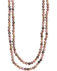 Gorjana - Dakota Wrap Necklace - Lyst