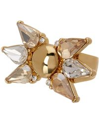 Trina Turk - Stone Spray Cocktail Ring - Size 7 - Lyst