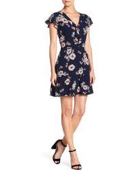 Cupcakes And Cashmere - Dalma Floral Mini Dress - Lyst