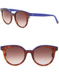 Web - We0195 51mm Round Sunglasses - Lyst