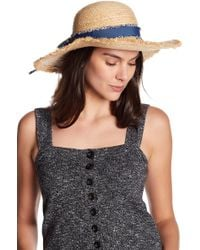 Roffe Accessories - Bow Floppy Hat - Lyst
