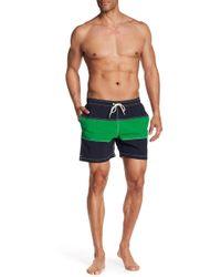 Barbour | White Sand Colorblock Swim Shorts | Lyst