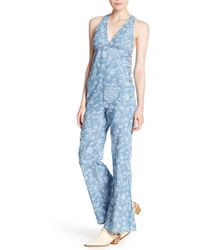 cca9fb7f54c2 Free People - Dance All Night Patterned Jumpsuit - Lyst