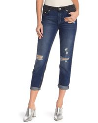 French Connection - Indi Distressed Jeans - Lyst