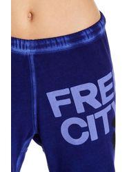 FREE CITY - Freecity Crop Sweatpants - Lyst