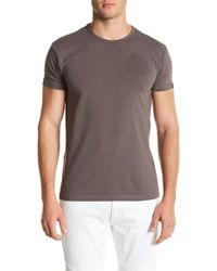 0701295896b4 Lyst - American Eagle Active Flex Graphic Crew T-shirt in Gray for Men