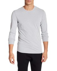Reigning Champ - Powerdry Long Sleeve Crew Neck Shirt - Lyst