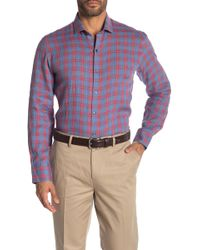 Zachary Prell - Liam Plaid Long Sleeve Sport Shirt - Lyst