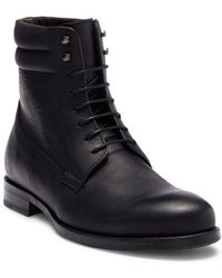 Bacco Bucci - Cesc Lace-up Leather Boot - Lyst