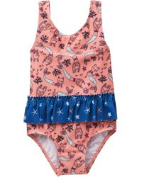 Joe Fresh - Mermaid Print One Piece Swimsuit (baby Girls) - Lyst
