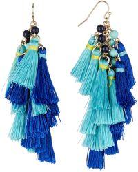 BaubleBar - Rosalita Tassel Earrings - Lyst