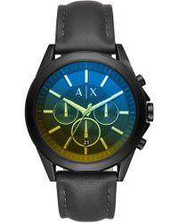 Armani Exchange - Men's Aix Watch, 46mm - Lyst