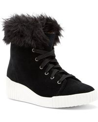 Bettye Muller - Rachel Faux Fur Suede Boot - Lyst