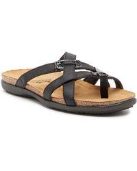 Naot - Audrey Loop Toe Slide Sandal - Lyst