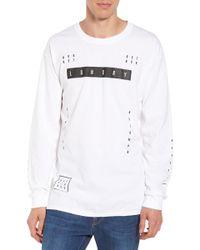 The Rail - Lgndry Graphic Long Sleeve T-shirt - Lyst